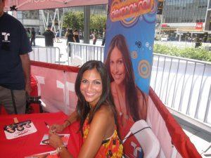Jessie Camacho Autograph signing