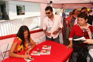 Jessie Camacho Autograph signing 2