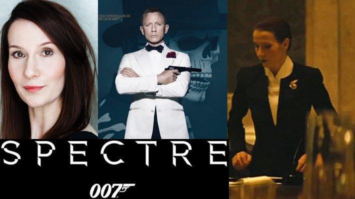 Brigitte Millar as Dr. Vogel in Spectre 007