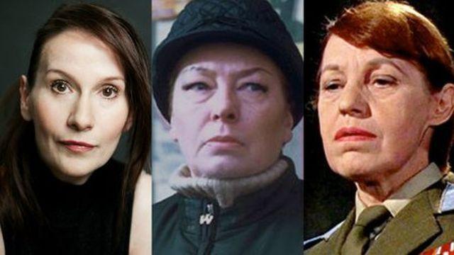 Brigitte Millar, Irma Bunt and Rosa Klebb, all 3 Bond villains