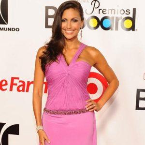 Jessie Camacho at Latin Billboards