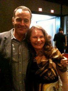 Roberta E. Bassin with Bryan Cranston