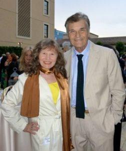 Roberta E. Bassin with Fred Willard