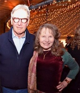 Roberta E. Bassin with Harrison Ford