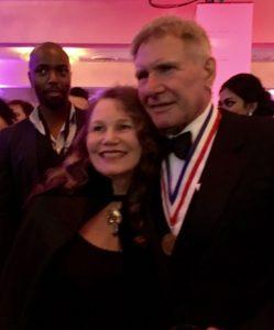 Roberta E. Bassin with Harrison Ford 2