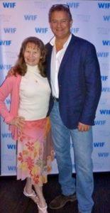 Roberta E. Bassin with Hugh Bonneville