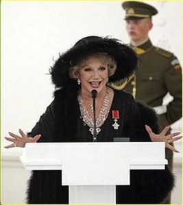 Ruta Lee Lithuanian award speech
