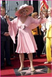 Ruta Lee walk of fame celebration promo