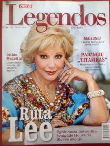 Ruta Lee Legendos magazine